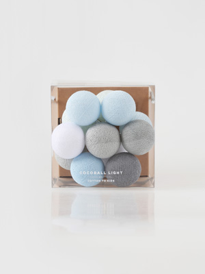mini cocoball light _ baby blue